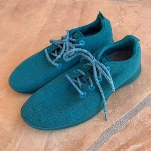Allbirds Wool Runners - Tuke Teal